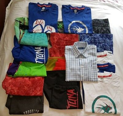 *new*boys Clothes Bundle*age: 9-10 Years* 10 Pairs Of Shorts & 5 T-Shirts*