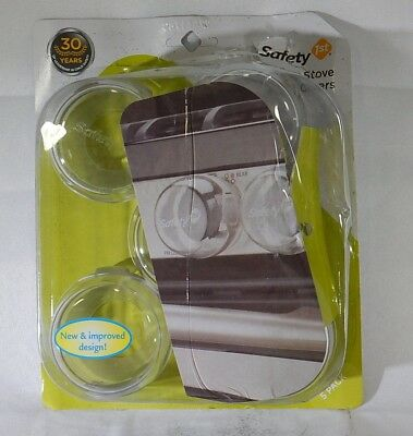 Safety 1st Clear View Stove Knob Covers 5 Count  T1