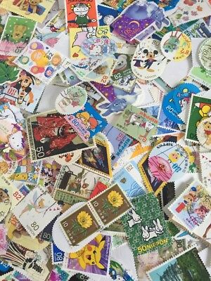 100 Used Japanese Stamps/ Stamps From Japan / Good Mixture