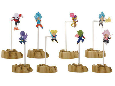 Bandai Dragonball Super Dragon Stars Nano Mini-Figure 2-Pack Set of Four NEW!