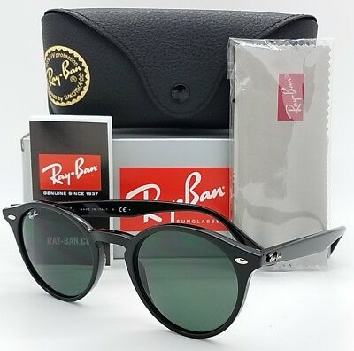 482ba547dae NEW Rayban sunglasses RB2180 601 71 49 Black Green Classic Round 2180  AUTHENTIC