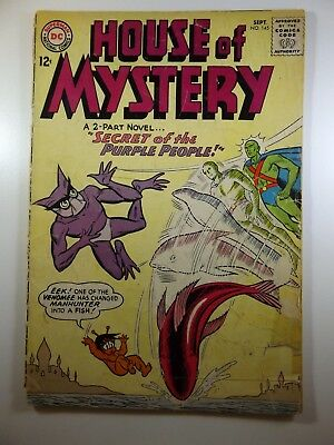 "The House of Mystery #145 ""Secret of the Purple People!"" Good- Condition!"