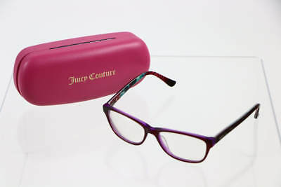 GUESS Maroon Red Frame Clear Lens Square Reading Glasses