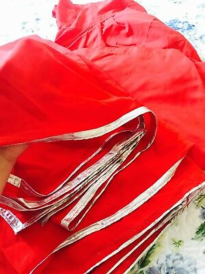 Best Chiffon stitched shalwar, pant and dupatta, scarf wrapped. For women. New