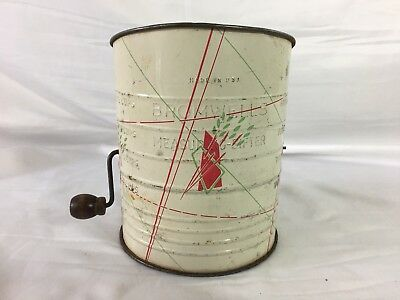 Bronwell's 5 Cup Measuring Sifter Vintage