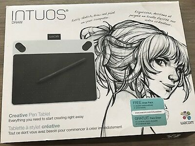 Wacom Intuos Draw Creative Pen Tablet (Pre-Owned)