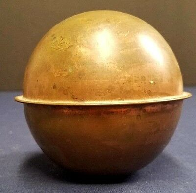 WeatherVane Copper Ball 4'' from Lightening Rod / Very Good Condition