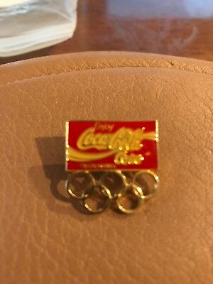 coca cola olympic Pin