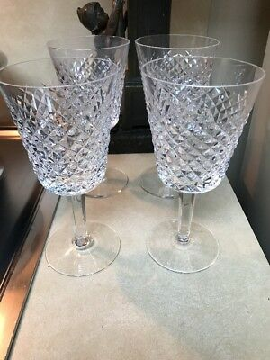 Waterford Crystal Alana Claret Wine Glasses set of 6
