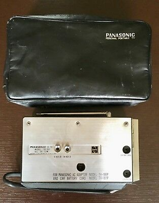 Panasonic Tr001 Early Portable Tv--Small Television No Picture