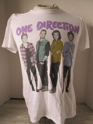 2015 One Direction On The Road Again Concet Tour T-Shirt Size Small