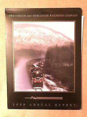 2005 Providence and Worcester Railroad Annual Report