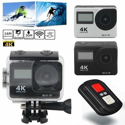 Ultra 4K Full HD 1080P Waterproof Sport Camera WiFi Action Camcorder LOT BU