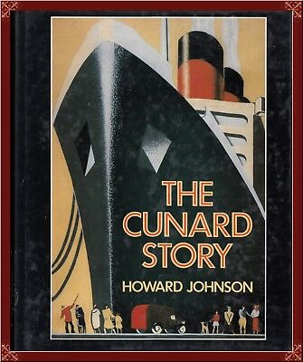 CUNARD LINE! BIG COMPLETE HISTORY w/TONS OF RARE PHOTOGRAPHS! OOP