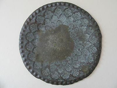 Old Middle East/Asia Bronze Plate/Dish