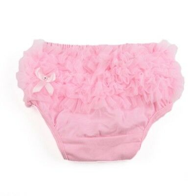 Briefs Bloomer Cover layer for Bebe Girl Photography Prop Size S - Pink Y4H1