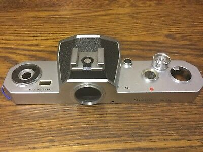 NIKON FT2 Vintage Camera Top Plate - New Old Stock - S/N 5226519