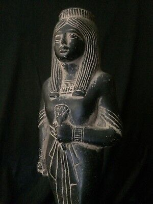 EGYPTIAN ANTIQUITIES EGYPT Ahmose Nefertari Queen STATUE Stone 18th Dynasty BC