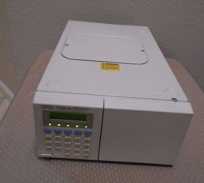 Shimadzu SPD-10A VP HPLC System UV VIS Detector Tested Nice, Agilent Waters HP