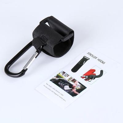 1Pcs Fashion Black Baby Stroller Hook Pram Hanger For Baby Car Carriage Buggy