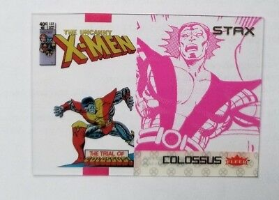 """2018 Fleer Ultra X-Men Colossus STAX #17B """"Middle Layer"""" Upper Deck"""