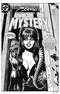 COMIC COVER RECREATION COMMISSION - Silver/Bronze age 11x17 - free shipping!
