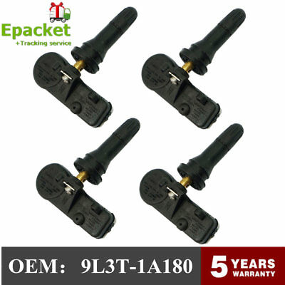 4x OEM Ford Tire Pressure Monitor TPMS Sensor Escape Exped ition Explorer Fiesta