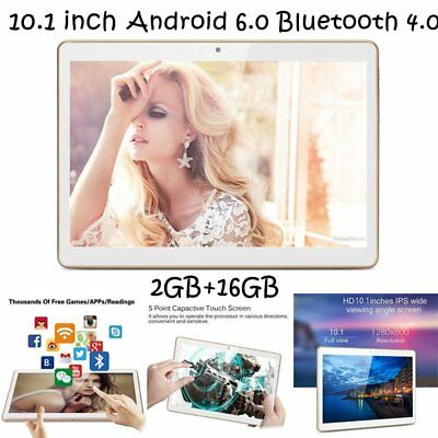 "10.1"" inch Android 6 Octa Core Unlocked Dual SIM 3G/4G WIFI 16GB Tablet PC Lot"