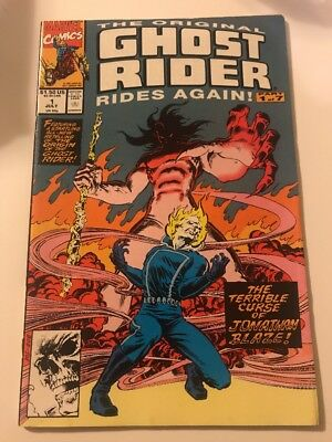 The Original Ghost Rider Rides Again 1 3 VF/NM Marvel Comics Book Lot 1991