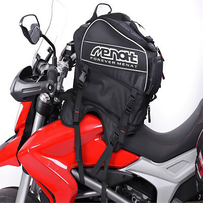 57L Waterproof Magnetic Motorcycle Motorbike Oil Fuel Tank Saddle Bag