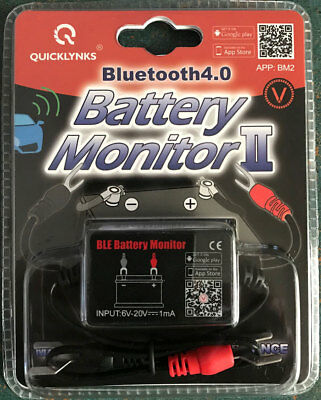BM2 Wireless Bluetooth 12v Battery Monitor 4x4, Caravans, Camper Trailers