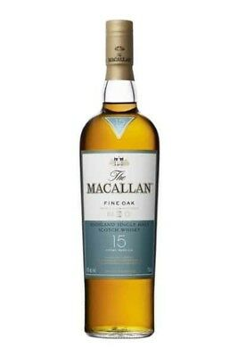 The Macallan 15 Year Old Fine Oak Highland Single Malt Scotch Whisky 700Ml
