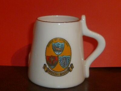 WH GOSS Crested China Model of The Stirling Pint Measure. Burgh of Stirling