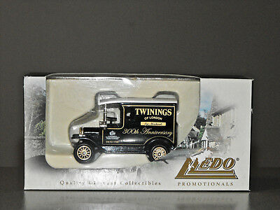 Promotional TWININGS TEA 300th ANNIVERSARY DIECAST FORD VAN by LLEDO Boxed 2006
