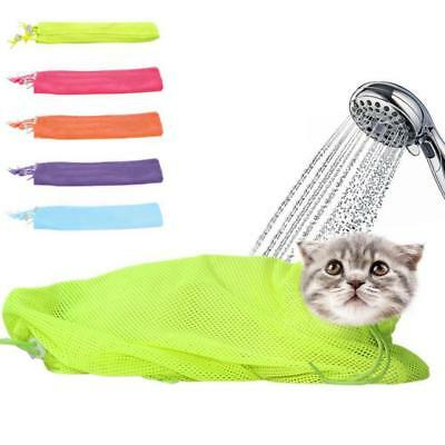 Mesh Pet Dog Cat Grooming Bathing Bag No Scratching Biting Restraint Bags