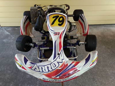 Arrow X1 Rotax Go Kart