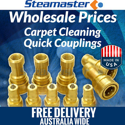 """Walk-Behind Extractors Carpet Cleaning Quick Connect 5 Female & Male ¼"""""""