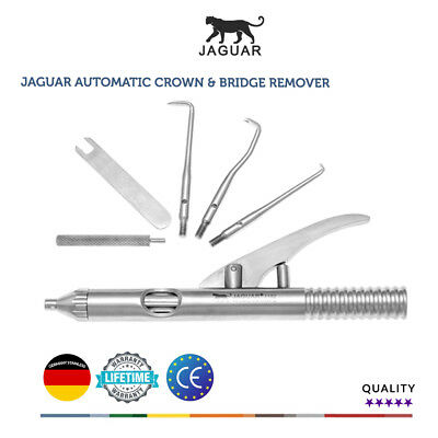 Jaguar Automatic Crown & Bridge Remover Germany Stainless Competitor price £265