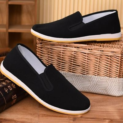 Chinese Men Traditional Cotton Sole Tai-Chi / Kung Fu Shoes