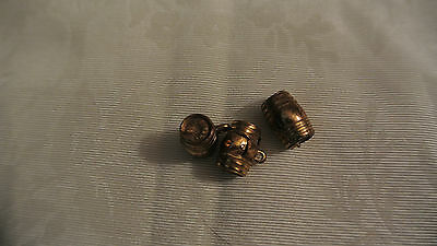 Vintage Seagrams Ancient Bottle Charms Lot of 3