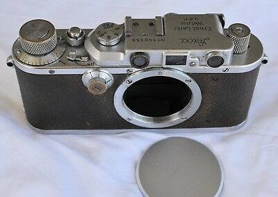 Leica III (3) Camera Body from 1934 - Good Original Condition - shutter working