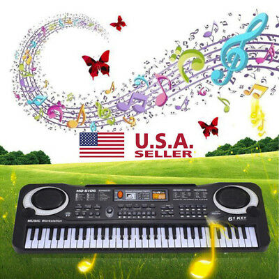 New 61Keys Digital Music Electronic Keyboard Key Board Gift Electric Piano Gift