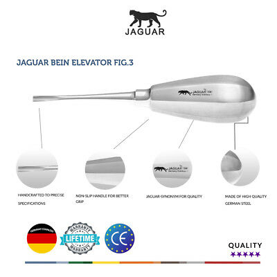 Jaguar Bein Fig.3 Surgical Elevator Germany Stainless CE Competitor price £25