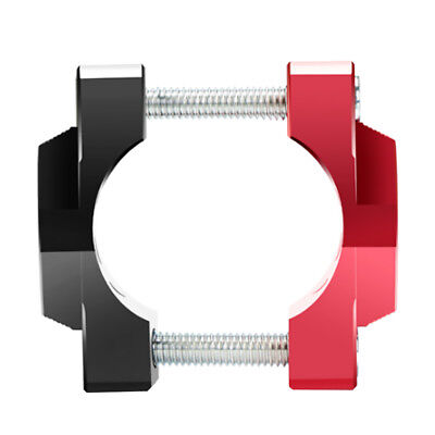 Red for Motorcycle Bike Handlebar Mount Clamps Riser Handle Fat Bar 32mm