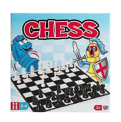 Classic Chess 32 Piece Traditional Board Game Kids Adults Family Strategy Toy