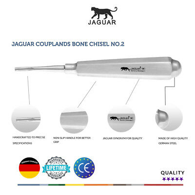 Jaguar Couplands Surgical Bone Chisel No 2 Germany Stainless Hu-friedy price £59