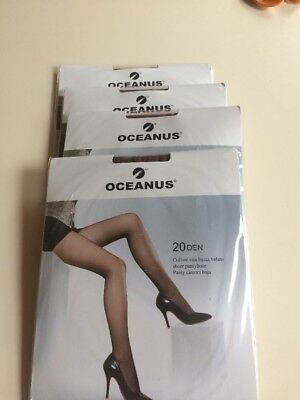 4 Pairs Of Sheet Light Support Tights X Large Made In Italy