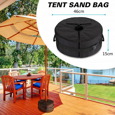 Weight Sand Bag Detachable For Umbrella Flagpoles Base Stand Square Outdoor