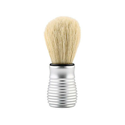 Premium Alloy Handle Men's Hair Removal Beard Mustache Shaving Brush Tool