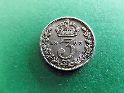UK 1908 Threepence